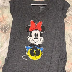 Disney Minnie Mouse T-Shirt Front and Back Printed